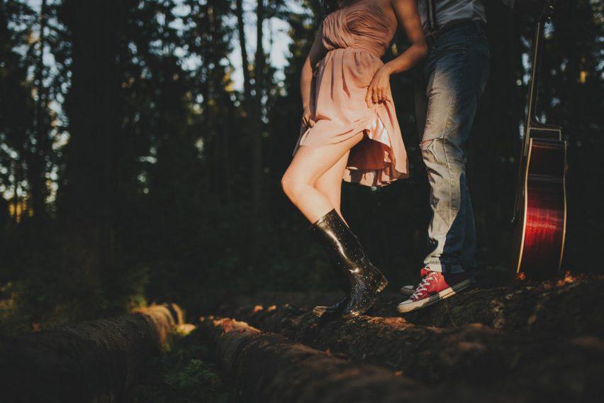 romantyczna sesja