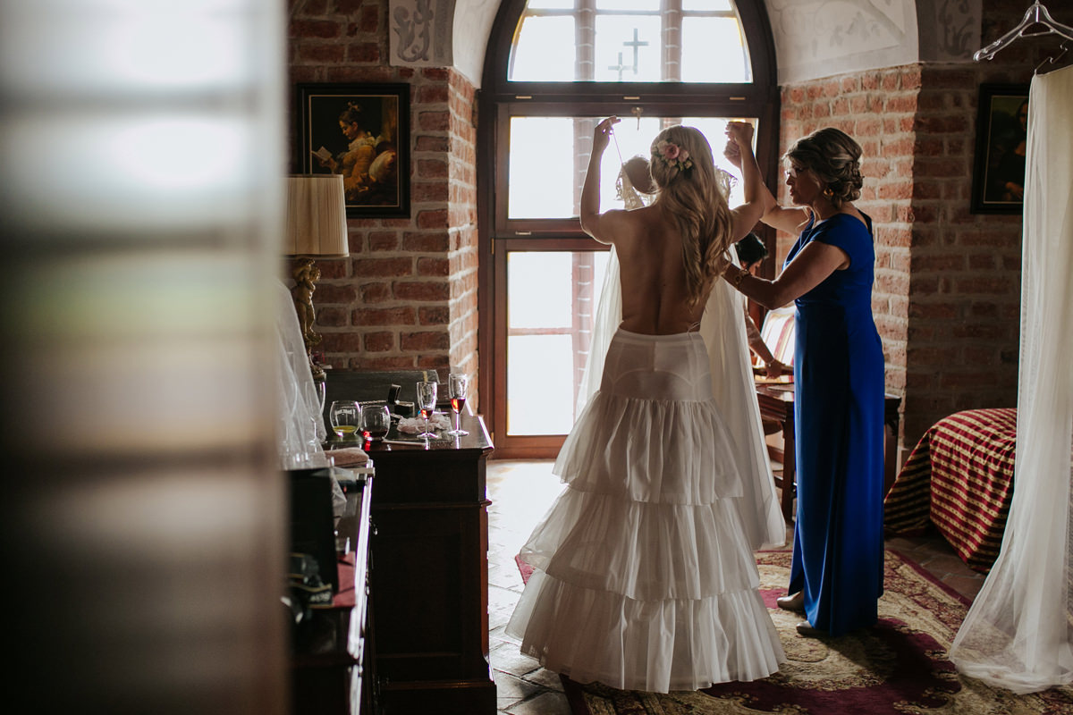 A WEDDING IN GNIEW CASLE 13