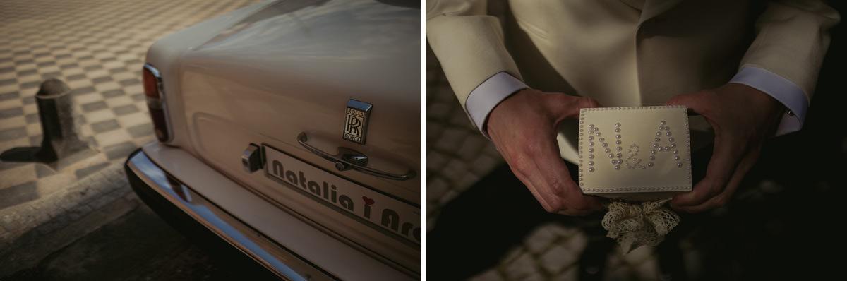 201 auto na wesele