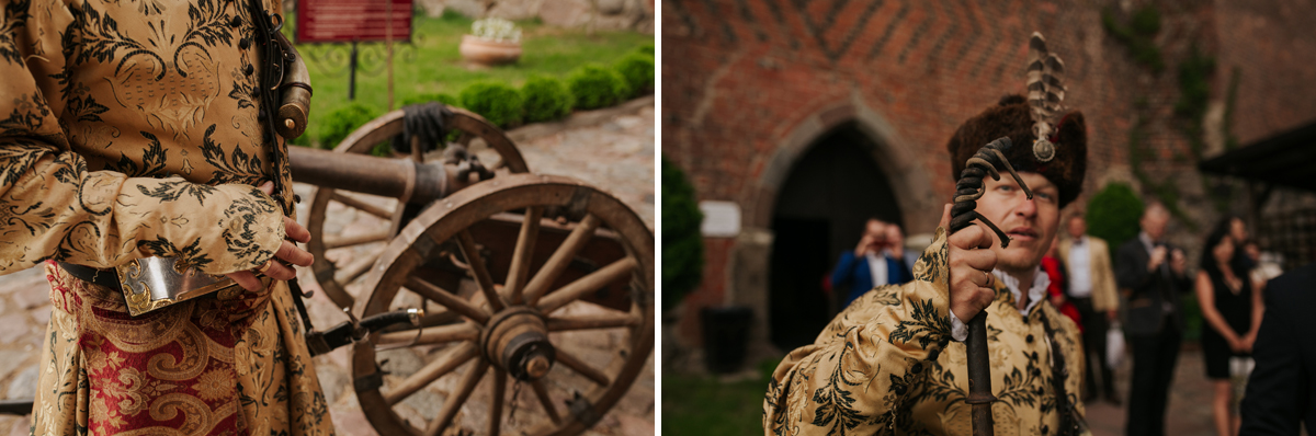 A WEDDING IN GNIEW CASLE 49