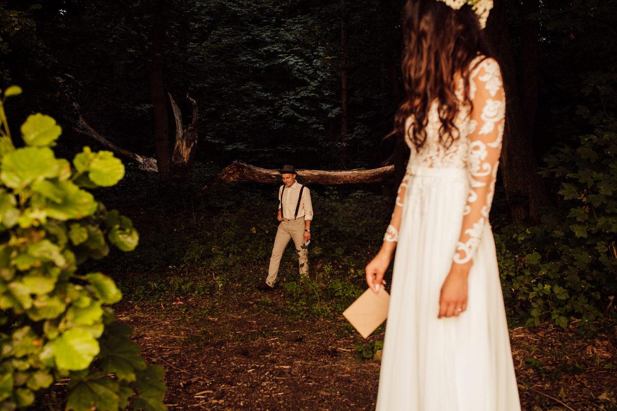 sesja ślubna - łapacz snów
