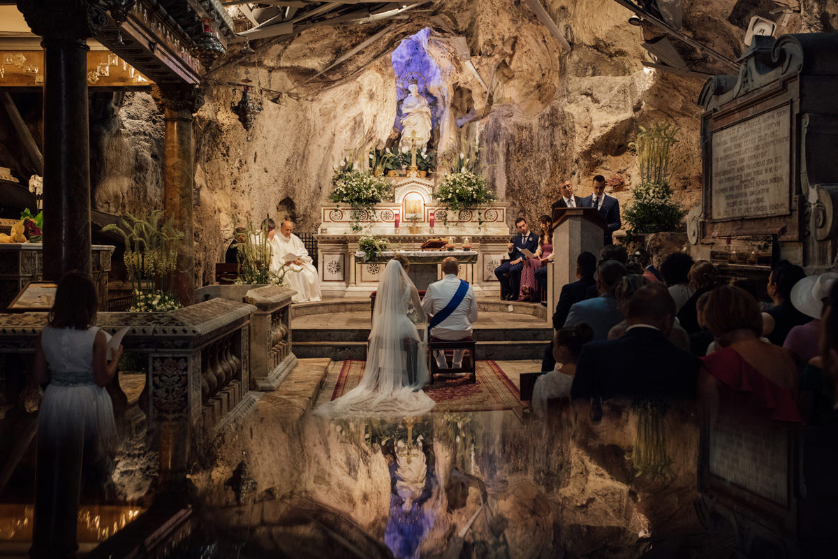 AN ITALIAN WEDDING AND RECEPTION 45