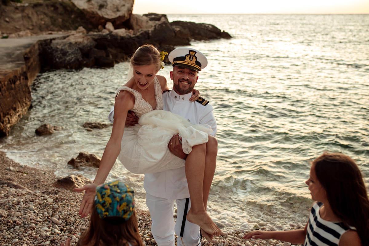 AN ITALIAN WEDDING AND RECEPTION 91